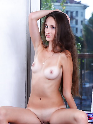 Amour Angels  Chloe  Pussy, Brunettes, Blue eyes, Beautiful, Teens, Solo
