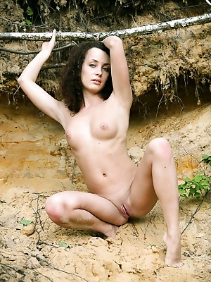avErotica  Blossom  Amateur, Brunettes, Curly, Erotic, Beach, Teens, Skinny, Solo
